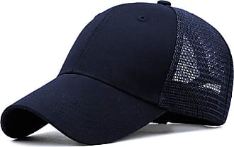 Yidarton Baseball Cap Polo Style Classic Sports Casual Plain Sun Hat(Y-Navy)