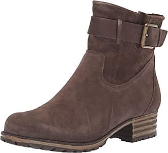 8537cd50cda7 Clarks Womens Marana Amber Fashion Boot Taupe Suede 100 M US