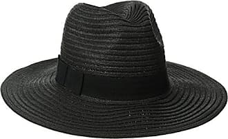 cd2c93cb99a6cc San Diego Hat Company Womens Paperbraid Fedora with Bow Band, Black, One  Size