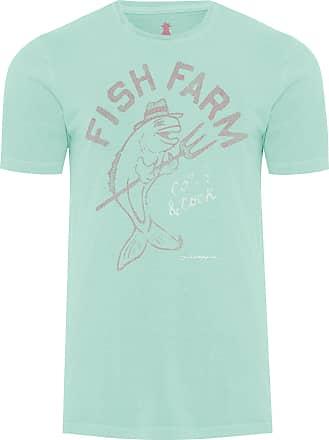 Pineapple T-SHIRT MASCULINA FISH FARM - VERDE