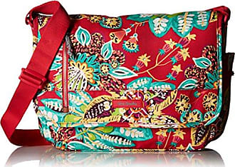 Vera Bradley Laptop Messenger Cotton Messenger Bag, Rumba, One Size