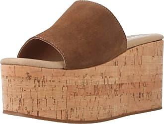 Yellow Women Sandals and Slippers Women Queens Brown 5.5 UK