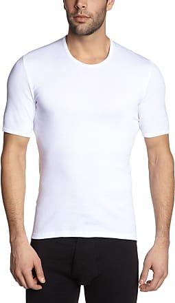 Schiesser Mens Jacke 1/2 Undershirt, White (100-White), XXXX-Large