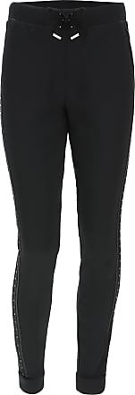 Freddy Viscose fleece trousers with crystals on the lateral bands and waist