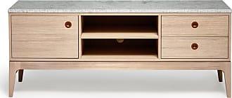 MAVIS Höllviken tv-bänk 150 cm ek/ kalksten, mavis