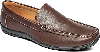 Chums Mens Wide Fit Driving Shoe Brown 10 UK