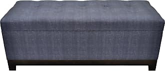 Three Hands Tufted Upholstered Storage Bench Brown - 16982