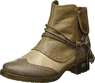 0fa80243f6c38a Mustang Damen 1229-501 Combat Boots Mehrfarbig (368 Erde Ivory Taupe)