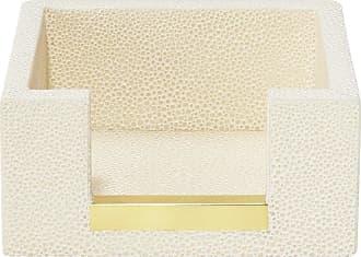 Aerin Shagreen Memo Paper Holder - Cream
