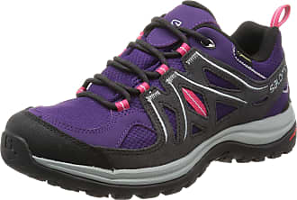 Salomon Womens Ellipse 2 GTX W-W Trail Runner, Purple Cosmic Purple Asphalt Lotus Pink Cosmic Purple Asphalt Lotus Pink, 7 UK