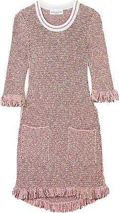 7ff6e871c6f Sonia Rykiel Sonia Rykiel Woman Sequin-embellished Cotton-blend Tweed Mini  Dress Baby Pink