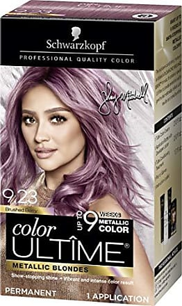 e4f7c554b4 Schwarzkopf Color Ultime Metallic Permanent Hair Color Cream, 9.23 Brushed  Berry (Pack of 12