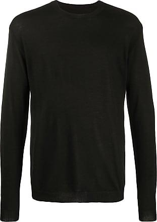 Uma Wang fine knit long sleeve jumper - Black