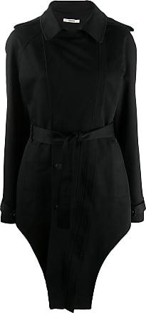 Zilver unzipped side weekend coat - Black