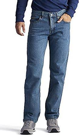 Lee Mens Regular Fit Straight Leg Jean, Wylie, 28W x 30L