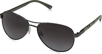 Joules Womens Cowes Sunglasses, Matt Gun/Gret, 57