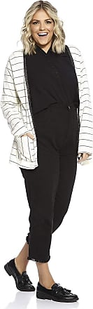 Rovitex Cardigan/casaco feminino listrado Plus Size Off White Rovitex Secret Glam - Tam. GG/54