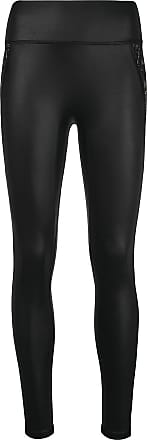 Kiki De Montparnasse lace-detail leggings - Black