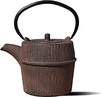 Old Dutch International 1074RU Woodland Brown Cast IronShinrin Teapot, 32 Oz. SHINRIN-26 OZ