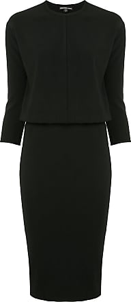 James Perse midi blouson dress - Black