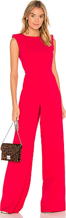 Jay Godfrey Reese Jumpsuit in Red