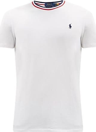Men's White Polo Ralph Lauren T-Shirts: 109 Items in Stock | Stylight