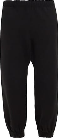 Raey Organic And Recycled-yarn Cotton-blend Track Pants - Womens - Black