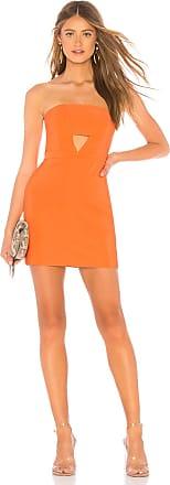 NBD Emma Dress in Orange