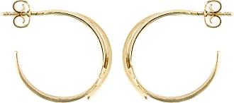 Wouters & Hendrix Bamboo hoop earrings - Metallic