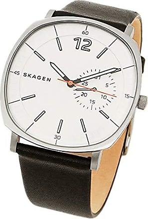 Skagen Relógio Skagen Couro - SKW6256/0BI