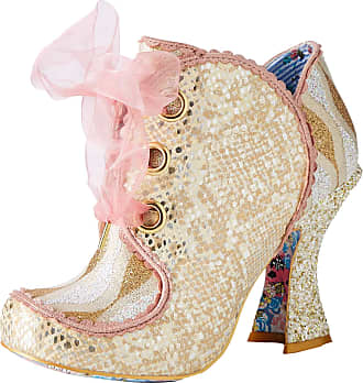 Irregular Choice Womens Baroness Wedding Shoes, White (White Black), 8.5 (43 EU)