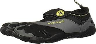 Body Glove Mens 3T Barefoot Max Water Shoe, Black/Yellow, 10
