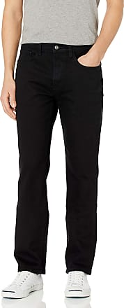 Nautica Mens Relaxed Fit Jean Pant, Space Black Wash, 38W x 32L