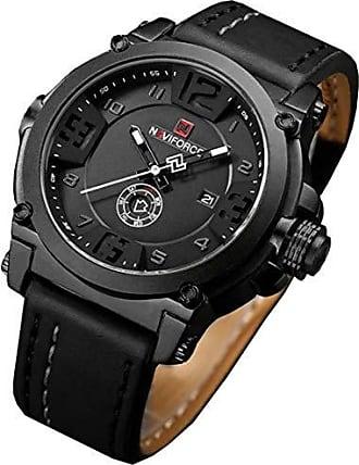 NAVIFORCE Relógio Masculino Social Naviforce 9099 - Preto