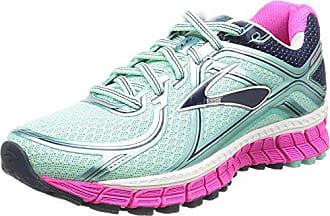 2d3074dee2 Brooks Adrenaline Gts 16, Damen Laufschuhe, Mehrfarbig (türkis/pink), 36.5