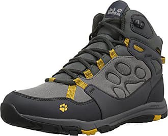 4df51f18a2 Jack Wolfskin Activate Texapore MID M Hiking Boot, Burly Yellow xt, US Mens  8.5