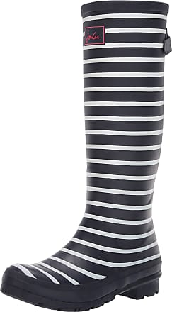 Joules Womens Wellyprint Wellington Boots, Blue (French Navy Stripe Fnavstp), 3 UK (36 EU)