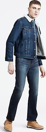 Levi's 527 Slim Bootcut Jeans - Black
