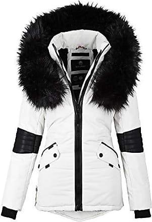 Navahoo® Damen Winterjacken in Weiß   Stylight