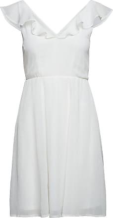 Vila Virannsil S/L Short Dress/Za Kort Klänning Vit Vila