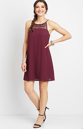 Maurices Linked Lattice Tank Dress
