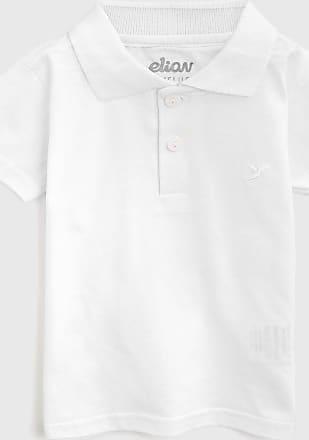 Elian Camisa Polo Elian Infantil Lisa Branca