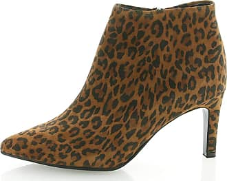 Peter Kaiser Uma Stylish Ankle Boot in Leopard 6.5 UK Leopard