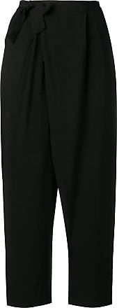 Transit Par-Such wrap straight trousers - Preto