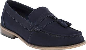 Lambretta Tassle Loafer Shoes Blue 10 UK