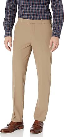 Van Heusen Mens 505M103 Casual Pants, Khaki, 34W x 30L