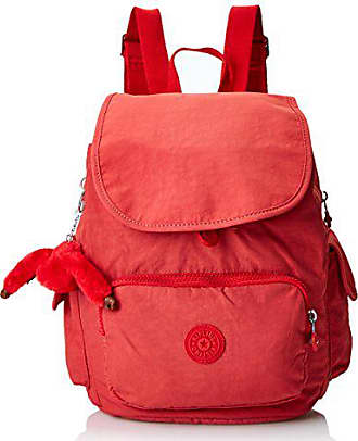 3e4cd9987a Kipling City Pack S - Zaini Donna, Rosso (Spicy Red C), 27