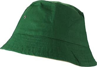2Store24 Fishing Hat in Dark Green/beige Size L/XL