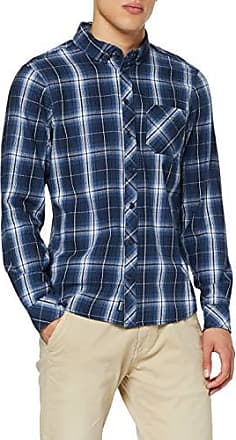 Blend Camicia forest night green