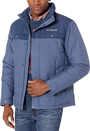 Columbia Mens Ridgestone II Jacket Insulated, Dark Mountain, Medium
